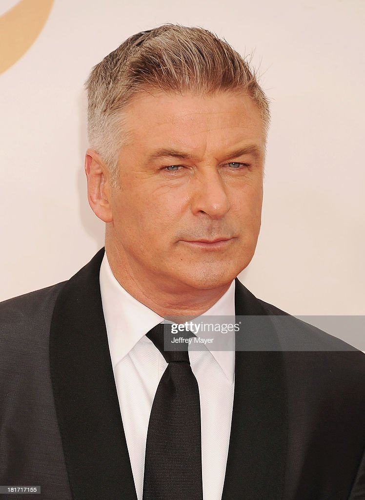 Actor Alec Baldwin arrives at the 65th Annual Primetime Emmy Awards at Nokia Theatre LA Live on September 22 2013 in Los Angeles California