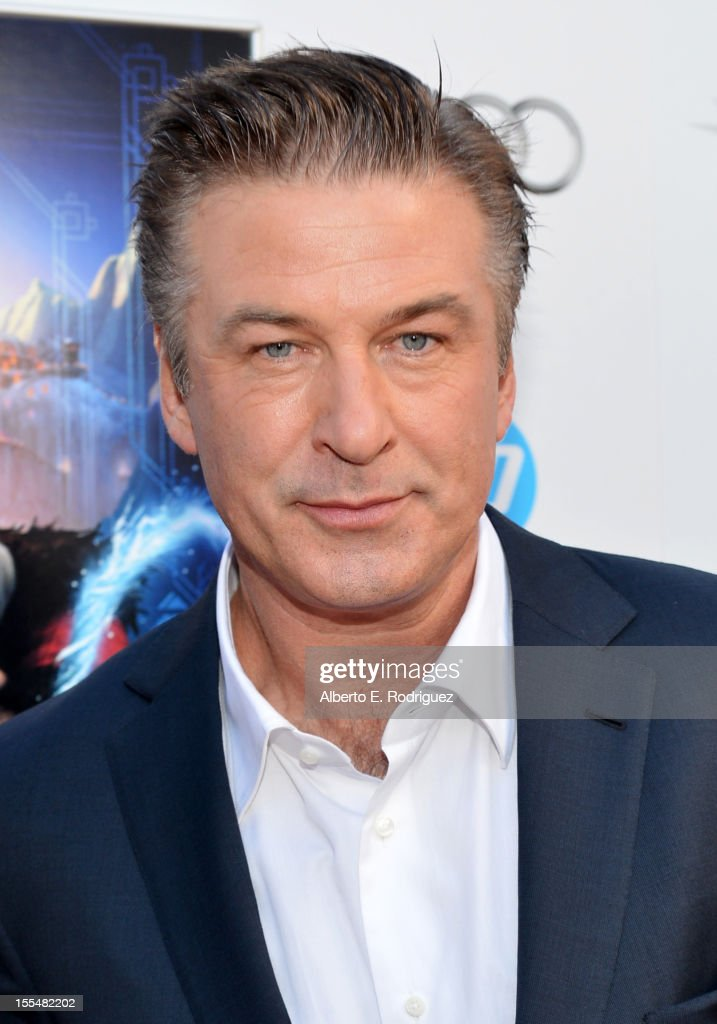 Actor <a gi-track='captionPersonalityLinkClicked' href=/galleries/search?phrase=Alec+Baldwin&family=editorial&specificpeople=202864 ng-click='$event.stopPropagation()'>Alec Baldwin</a> arrives at the premiere of 'Rise of the Guardians' during the 2012 AFI Fest presented by Audi at Grauman's Chinese Theatre on November 4, 2012 in Hollywood, California.