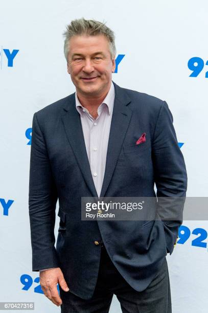 Actor Alec Baldwin attends Alec Baldwin in Conversation with Janet Maslin at 92nd Street Y on April 19 2017 in New York City