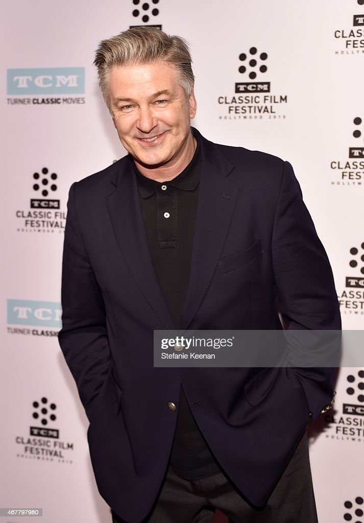 Actor <a gi-track='captionPersonalityLinkClicked' href=/galleries/search?phrase=Alec+Baldwin&family=editorial&specificpeople=202864 ng-click='$event.stopPropagation()'>Alec Baldwin</a> attends day two of the 2015 TCM Classic Film Festival on March 27, 2015 in Los Angeles, California. 25064_005