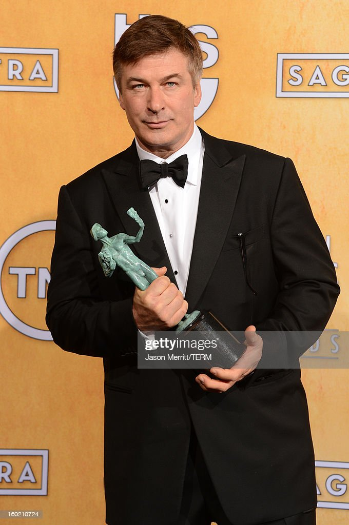 Actor <a gi-track='captionPersonalityLinkClicked' href=/galleries/search?phrase=Alec+Baldwin&family=editorial&specificpeople=202864 ng-click='$event.stopPropagation()'>Alec Baldwin</a> attends the 19th Annual Screen Actors Guild Awards at The Shrine Auditorium on January 27, 2013 in Los Angeles, California. (Photo by Jason Merritt/WireImage) 23116_014_3270.JPG
