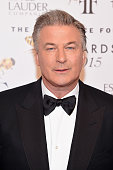 Actor Alec Baldwin attends the 2015 Fragrance Foundation Awards at Alice Tully Hall at Lincoln Center on June 17 2015 in New York City