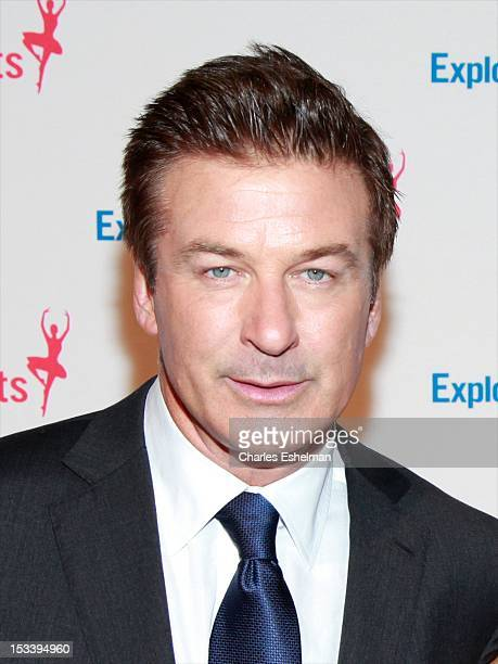 Actor Alec Baldwin attends the 6th annual Exploring The Arts Gala at Cipriani 42nd Street on October 4 2012 in New York City