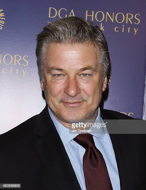 Actor Alec Baldwin attends the DGA Honors Gala 2015 at the DGA Theater on October 15 2015 in New York City