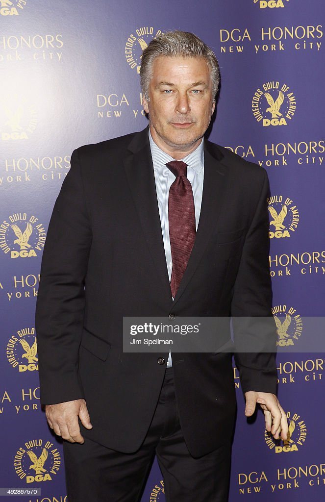 Actor Alec Baldwin attends the DGA Honors Gala 2015 at the DGA Theater on October 15, 2015 in New York City.