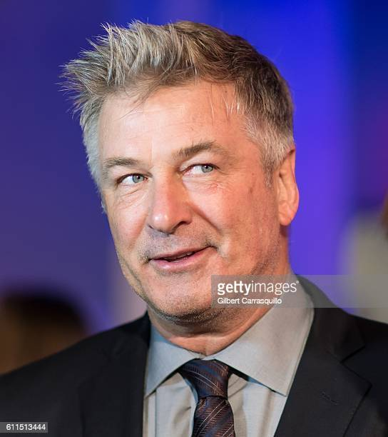 Actor Alec Baldwin attends the HOLA USA launch party hosted by Alec Hilaria Baldwin at Porcelanosa on September 29 2016 in New York City