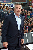 Actor Alec Baldwin attends the 'Mission Impossible Rogue Nation' New York premiere at Duffy Square in Times Square on July 27 2015 in New York City