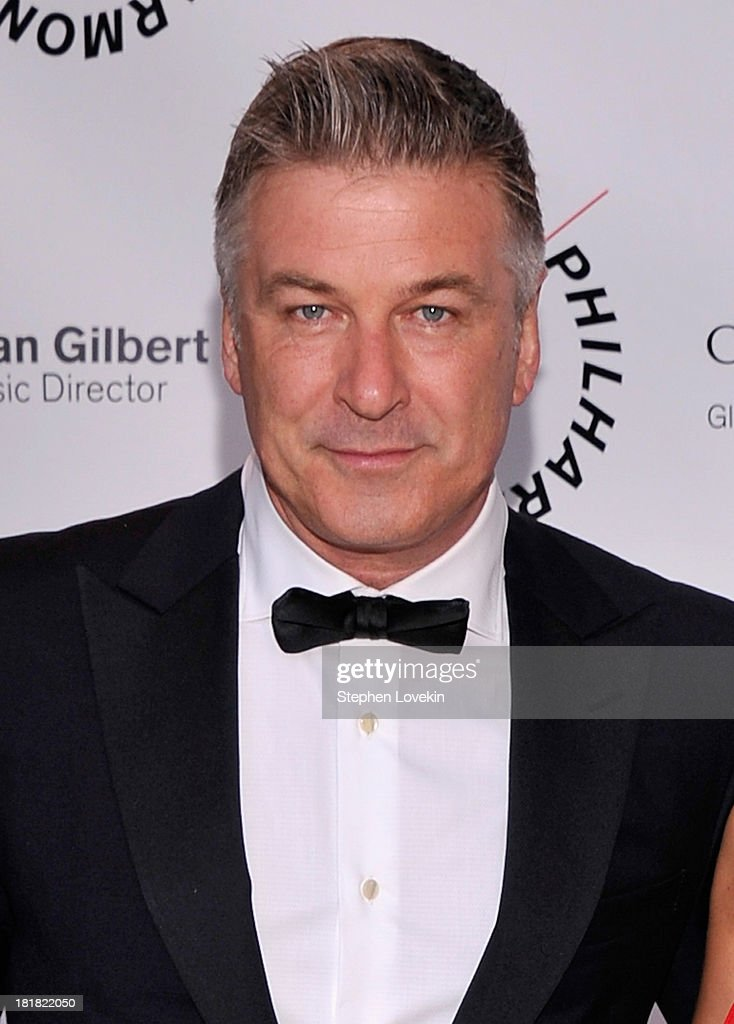 Actor Alec Baldwin attends The New York Philharmonic 172nd Season Opening Night Gala at Avery Fisher Hall, Lincoln Center on September 25, 2013 in New York City.