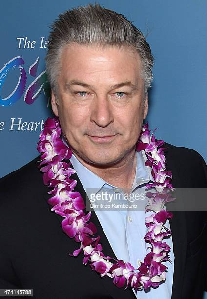 Actor Alec Baldwin attends the New York screening of 'Aloha' at the Sony Screening Room on May 20 2015 in New York City