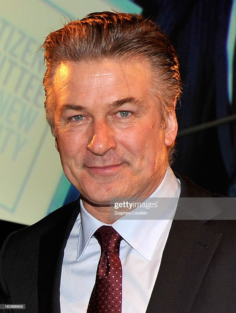Actor <a gi-track='captionPersonalityLinkClicked' href=/galleries/search?phrase=Alec+Baldwin&family=editorial&specificpeople=202864 ng-click='$event.stopPropagation()'>Alec Baldwin</a> attends the New Yorker For New York Gala at Gotham Hall on February 25, 2013 in New York City.