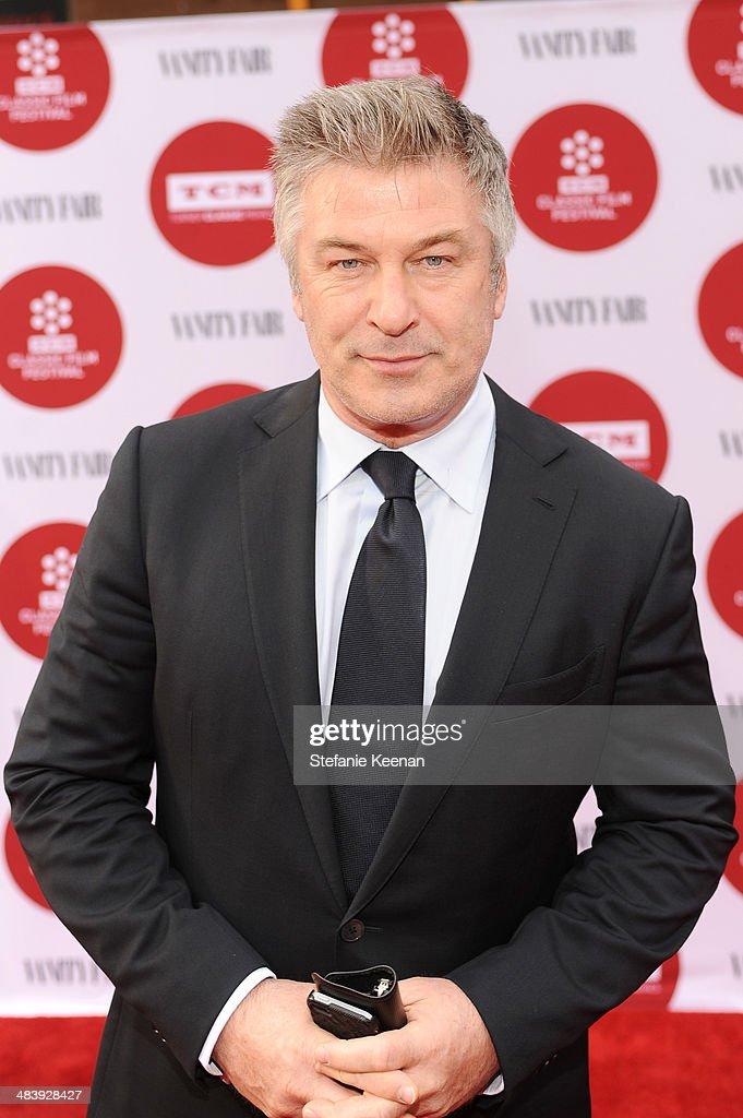 Actor Alec Baldwin attends the opening night gala screening of 'Oklahoma!' during the 2014 TCM Classic Film Festival at TCL Chinese Theatre on April 10, 2014 in Los Angeles, California.