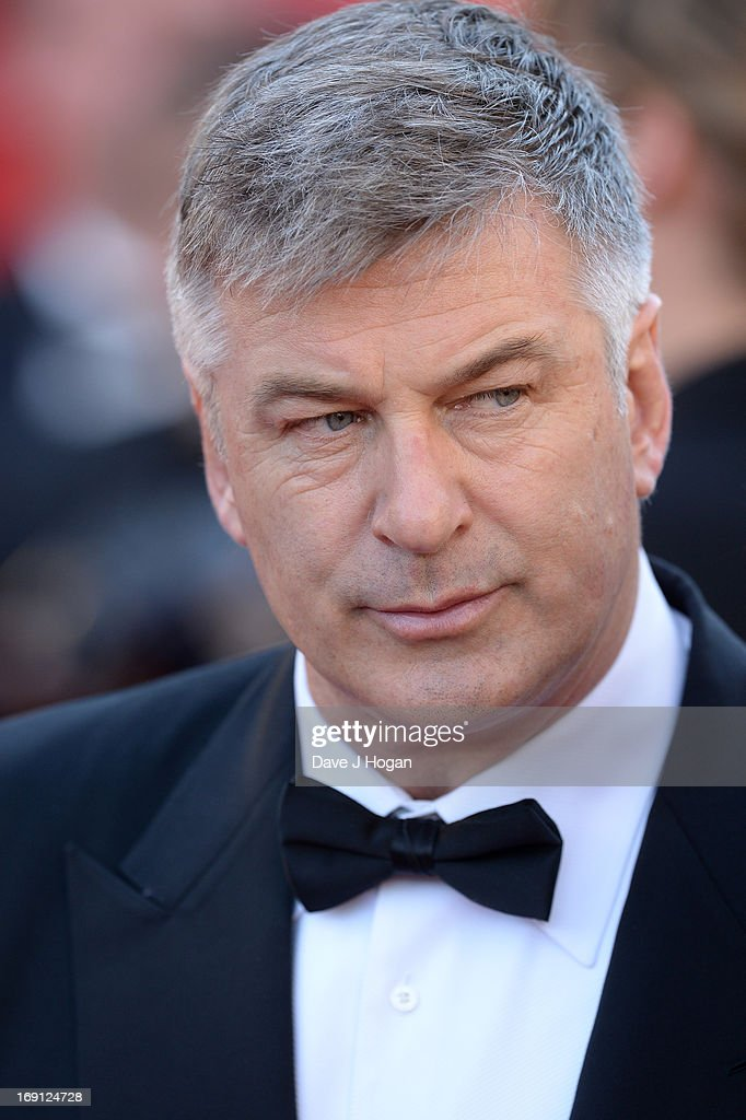 Actor Alec Baldwin attends the premiere for 'Seduced and Abandoned' during The 66th Annual Cannes Film Festival at the Palais des Festivals on May 20, 2013 in Cannes, France.
