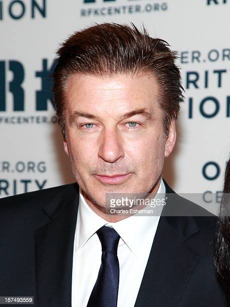 Actor Alec Baldwin attends the Robert F Kennedy Center for Justice and Human Rights 2012 Ripple of Hope gala at The New York Marriott Marquis on...