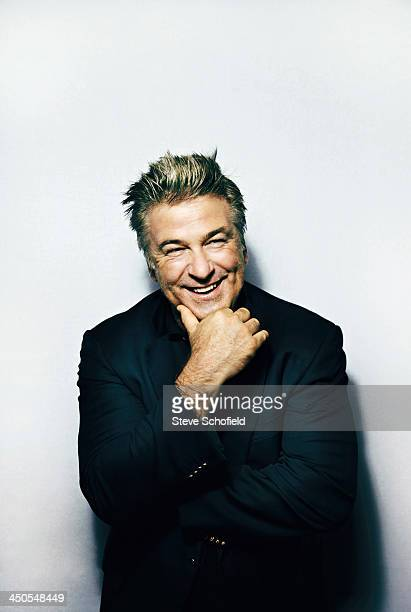 Actor Alec Baldwin is photographed the for Guardian on October 29 2013 in New York City