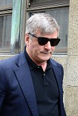 Actor Alec Baldwin is seen at Manhattan Criminal Court on November 12 2013 in New York City Baldwin is testifying against an alleged stalker...