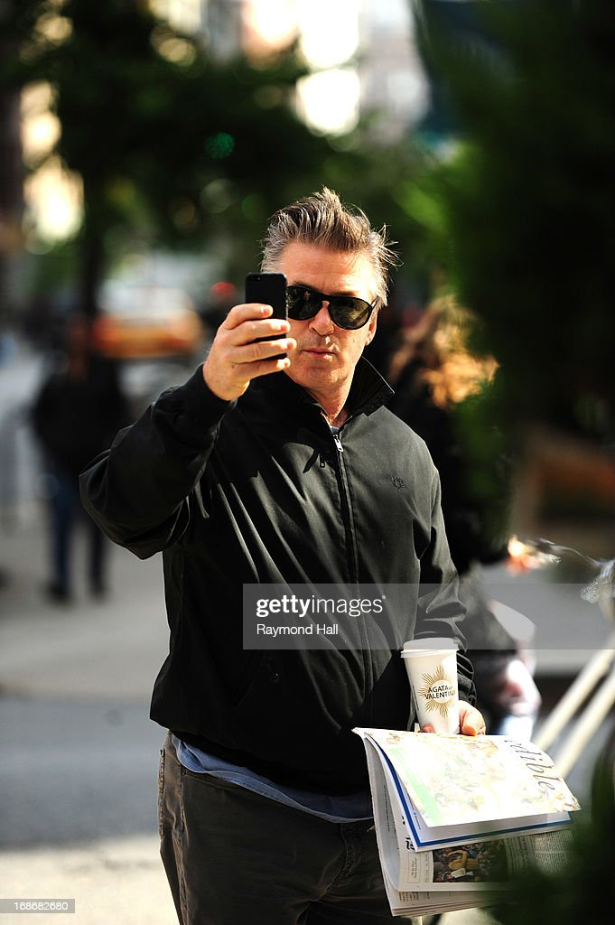 Actor Alec Baldwin is seen in the West Village on May 13, 2013 in New York City.
