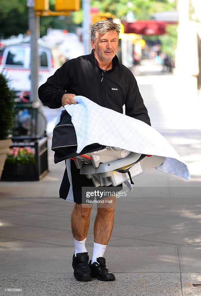 Actor <a gi-track='captionPersonalityLinkClicked' href=/galleries/search?phrase=Alec+Baldwin&family=editorial&specificpeople=202864 ng-click='$event.stopPropagation()'>Alec Baldwin</a> is seen in Upper East Side of Manhattan on August 27, 2013 in New York City.