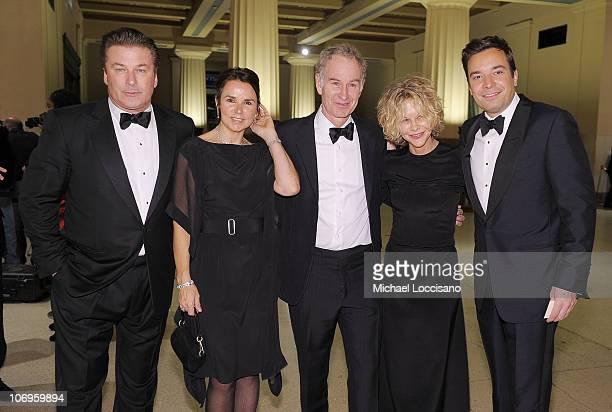Actor Alec Baldwin musician Patty Smyth her husband and former professional tennis player John McEnroe actress Meg Ryan and comedian Jimmy Fallon...