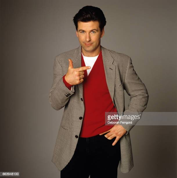 Actor Alec Baldwin poses for a portrait in March 1988 in New York City New York