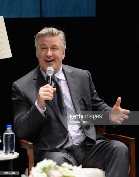 Actor Alec Baldwin speaks at the Dacor Modernist Collection Launch at Samsung 837 on March 15 2017 in New York City