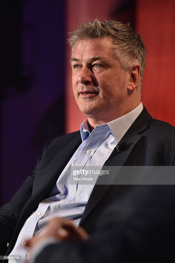 Actor Alec Baldwin speaks onstage at 'A Conversation with Elliot Gould' during day 3 of the TCM Classic Film Festival 2016 on April 30, 2016 in Los Angeles, California. 25826_008