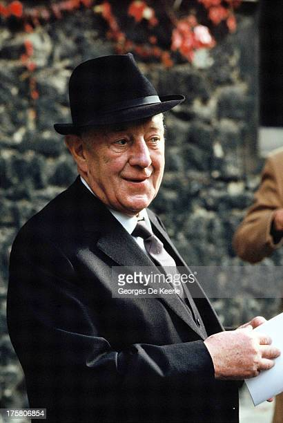 Actor Alec Guinness in 1990 ca in London England