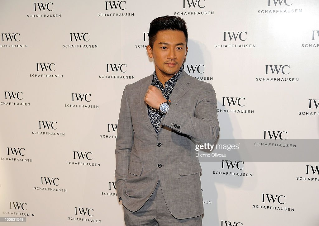 Actor Alec Su poses for photographs during the IWC Flagship Boutique Opening on November 22, 2012 in Beijing, China.