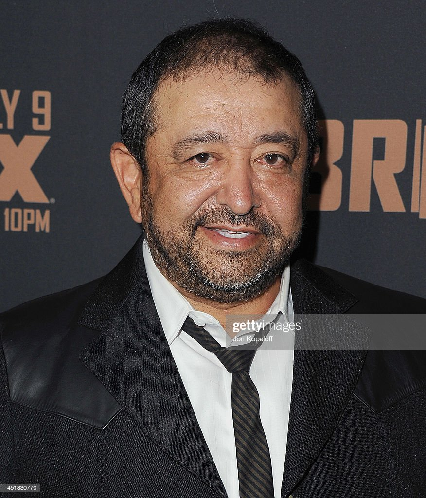 Actor Alejandro Patino arrives at the FX's 'The Bridge' Season 2 Premiere at Pacific Design Center on July 7, 2014 in West Hollywood, California.