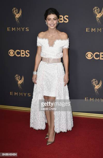Actor Alessandra Mastronardi attends the 69th Annual Primetime Emmy Awards at Microsoft Theater on September 17 2017 in Los Angeles California