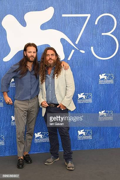 Actor Alessandro Borghi and actor Mirko Frezza attend a photocall for 'I Was A Dreamer' during the 73rd Venice Film Festival at on September 4 2016...