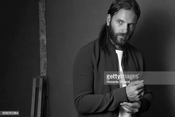 Actor Alessandro Borghi is photographed for Self Assignment on September 5 2016 in Rome Italy