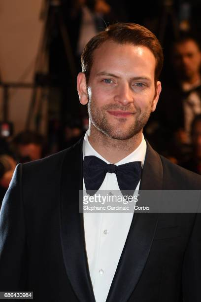 Actor Alessandro Borghi of 'Fortunata' departs 'The Meyerowitz Stories' premiere during the 70th annual Cannes Film Festival at Palais des Festivals...