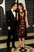 Actor Alessandro Nivola and actress Emily Mortimer attend the 2015 Vanity Fair Oscar Party hosted by Graydon Carter at Wallis Annenberg Center for...