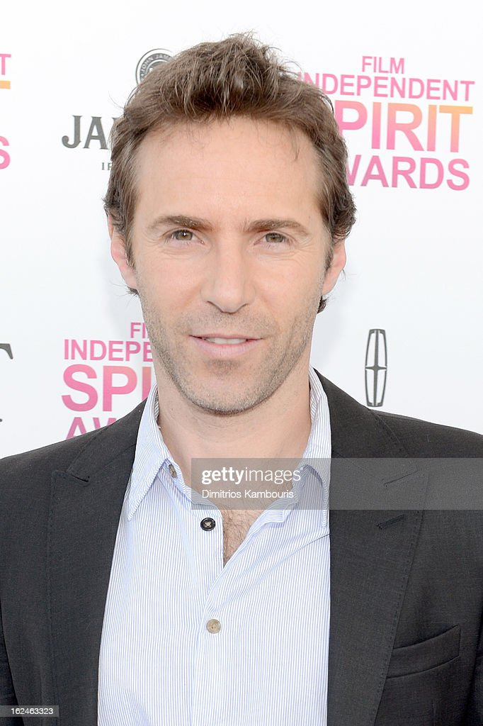 Actor Alessandro Nivola arrives with Jameson prior to the 2013 Film Independent Spirit Awards at Santa Monica Beach on February 23, 2013 in Santa Monica, California.