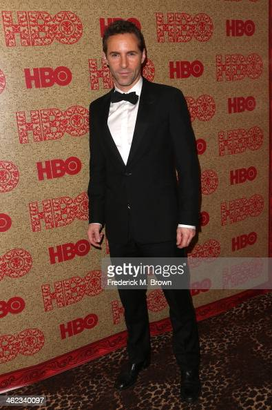 Actor Alessandro Nivola attends HBO's Post 2014 Golden Globe Awards Party held at Circa 55 Restaurant on January 12 2014 in Los Angeles California