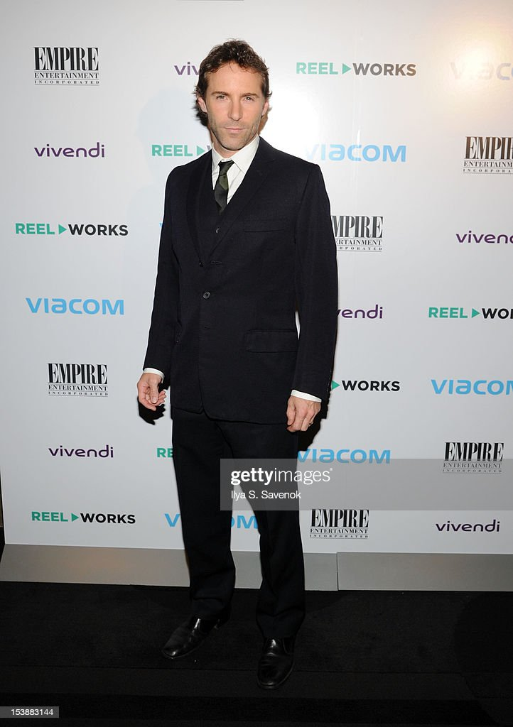 Actor Alessandro Nivola attends Reel Works 2012 Gala Benefit at The Edison Ballroom on October 10, 2012 in New York City.