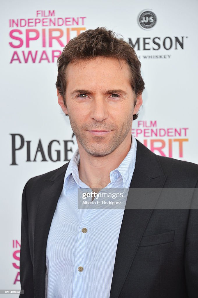 Actor Alessandro Nivola attends the 2013 Film Independent Spirit Awards at Santa Monica Beach on February 23, 2013 in Santa Monica, California.