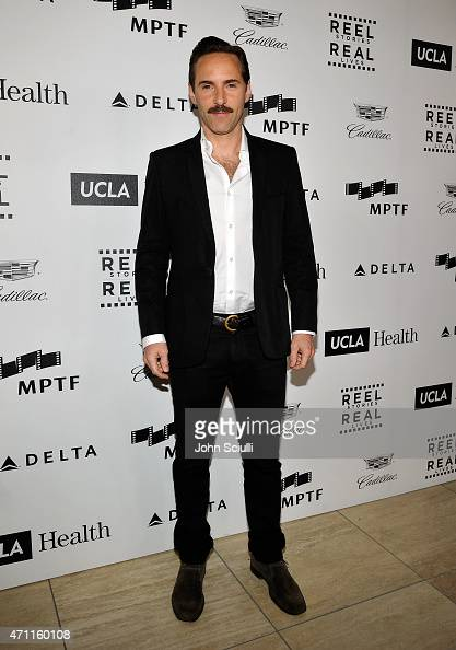 Actor Alessandro Nivola attends the 4th Annual 'Reel Stories Real Lives' benefiting the Motion Picture Television Fund at Milk Studios on April 25...
