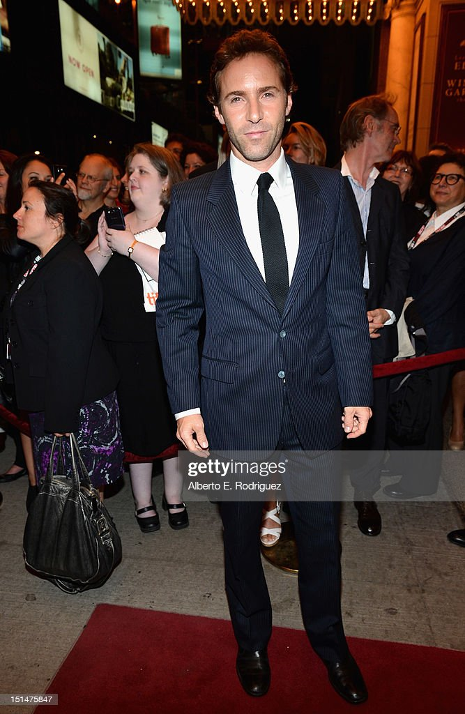 Actor <a gi-track='captionPersonalityLinkClicked' href=/galleries/search?phrase=Alessandro+Nivola&family=editorial&specificpeople=240468 ng-click='$event.stopPropagation()'>Alessandro Nivola</a> attends the 'Ginger & Rosa' premiere during the 2012 Toronto International Film Festival at the The Elgin on September 7, 2012 in Toronto, Canada.