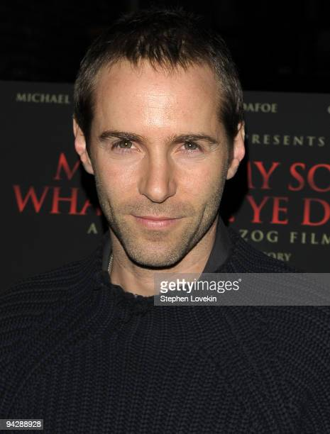 Actor Alessandro Nivola attends the premiere of 'My Son My Son What Have Ye Done' at the IFC Center on December 11 2009 in New York City