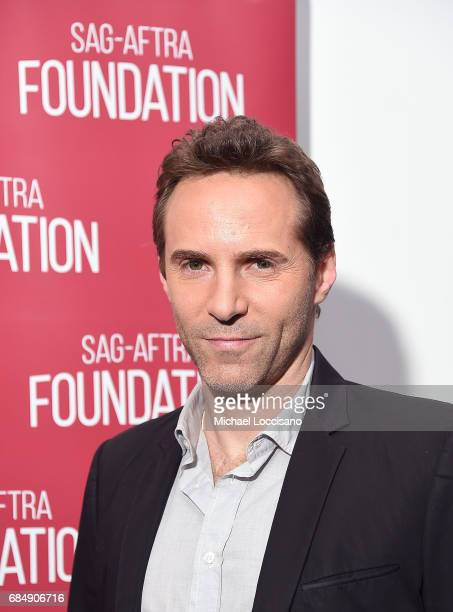 Actor Alessandro Nivola attends the SAGAFTRA Foundation Presentation of Conversations with Alessandro Nivola of 'The Wizard Of Lies' at SAGAFTRA...