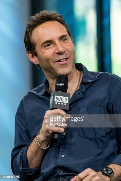 Actor Alessandro Nivola discusses 'The Wizard Of Lies' with the Build Series at Build Studio on May 18 2017 in New York City