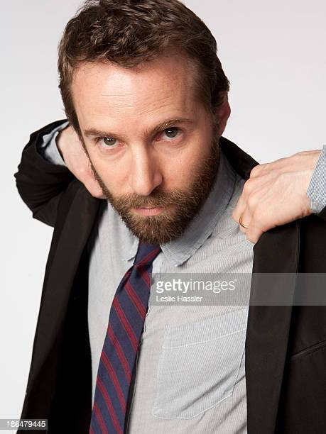 Actor Alessandro Nivola is photographed for Self Assignment on April 25 2011 in New York City