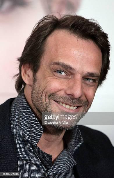 Actor Alessandro Preziosi attends 'Il Volto di un'Altra' at Cinema Barberini on April 4 2013 in Rome Italy