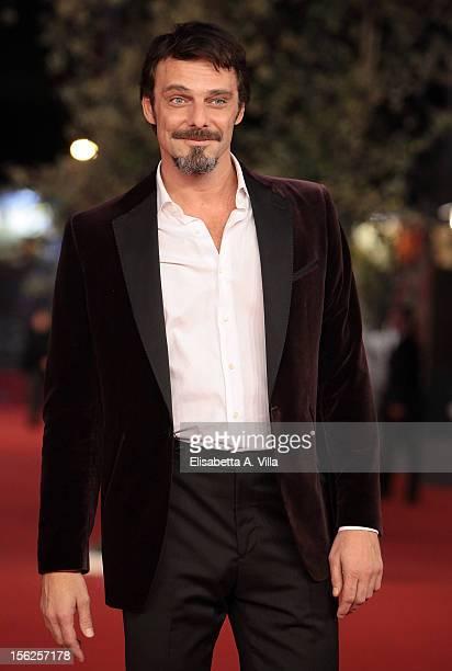 Actor Alessandro Preziosi attends the 'Il Volto Di Un'Altra' Premiere during the 7th Rome Film Festival at Auditorium Parco Della Musica on November...