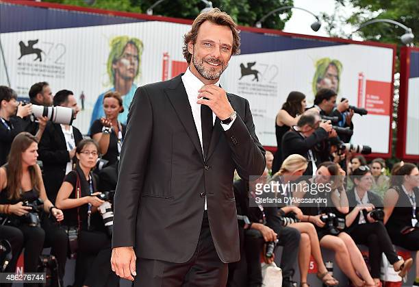 Actor Alessandro Preziosi attends the opening ceremony and premiere of 'Everest' during the 72nd Venice Film Festival on September 2 2015 in Venice...