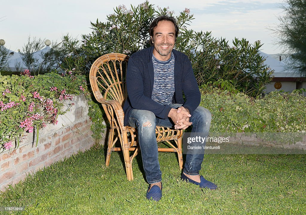 Actor Alessio Di Clemente attends the 'L'Arbitro' Photocall during the 70th Venice International Film Festival at the Villa degli Autori on August 27, 2013 in Venice, Italy.