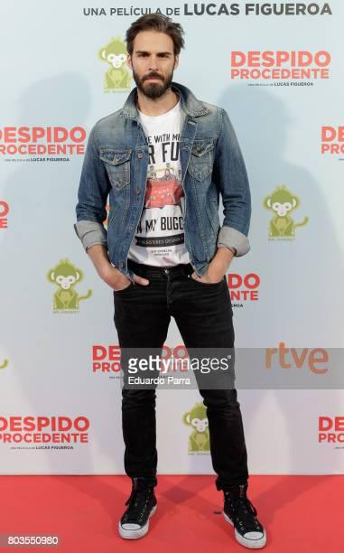 Actor Alex Barahona attends the 'Despido procedente' photocall at Callao cinema on June 29 2017 in Madrid Spain