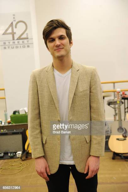Actor Alex Boniello attends the 'Million Dollar Quartet' cast photocall at The New 42nd Street Studios on March 21 2017 in New York City