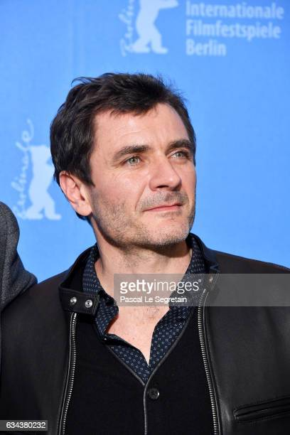 Actor Alex Brendemuhl attends the 'Django' photo call during the 67th Berlinale International Film Festival Berlin at Grand Hyatt Hotel on February 9...
